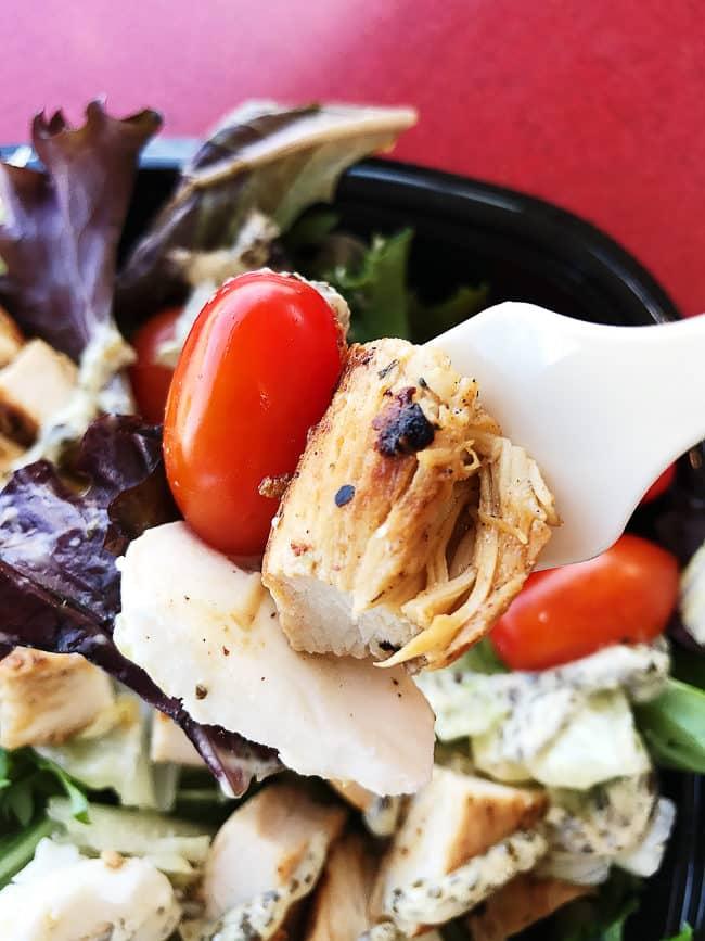 Wendy's Fresh Mozzarella Chicken Salad!