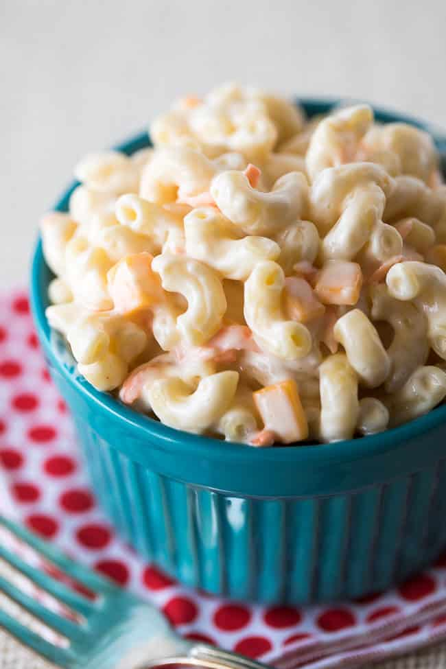 Amazing Sweet Macaroni Salad Recipe - This is THE best macaroni salad recipe of all time!