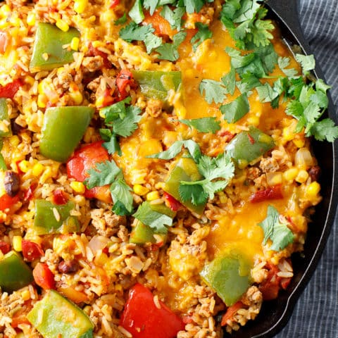 Unstuffed Peppers Skillet