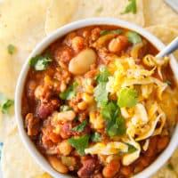 Crock Pot 15 Bean Salsa Chili
