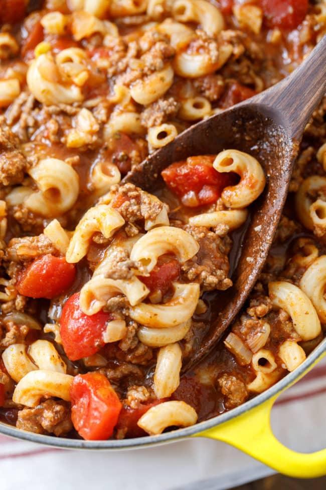 Old Fashioned Goulash Recipe | Easy Goulash | Johnny Marzetti | Easy Dinner Recipe | Easy Family Meal Idea #Goulash #JohnnyMarzetti