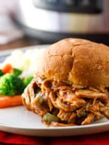 Pressure Cooker Pulled Chicken Recipe - Pulled Chicken Breast - BBQ Pulled Chicken - #PressureCooker #EasyMeals #EasyDinner #PulledChicken #BBQ