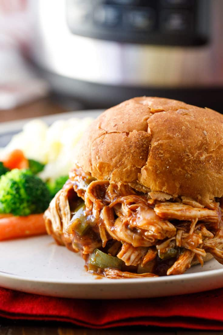 Pressure Cooker Pulled Chicken