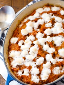 Holiday Yam Bake - Sweet Potato Casserole - Marshmallows - #SweetPotatoCasserole #YamBake #Yams
