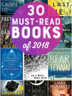 30 Best Books of 2018 - Must-read books for the year! #books #reading