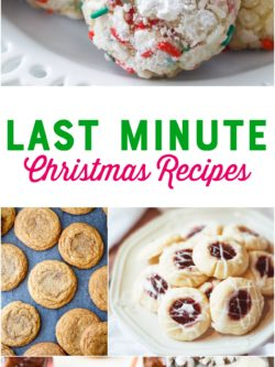 Best Last-Minute Christmas Recipes - Christmas Cookies - Holiday Appetizers - #Christmas #Recipes