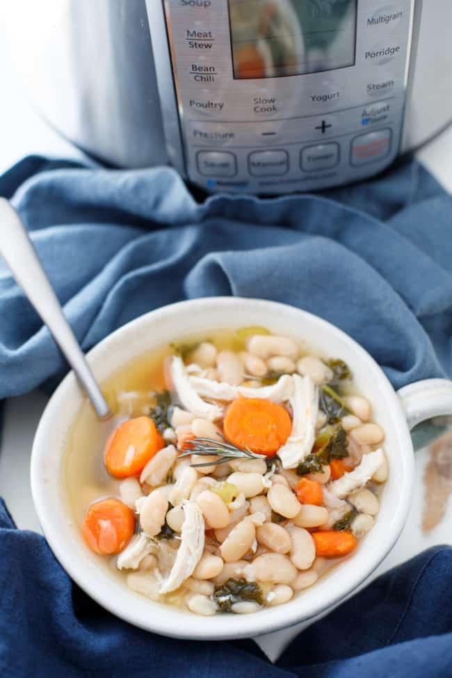 Instant Pot White Bean Soup Recipe