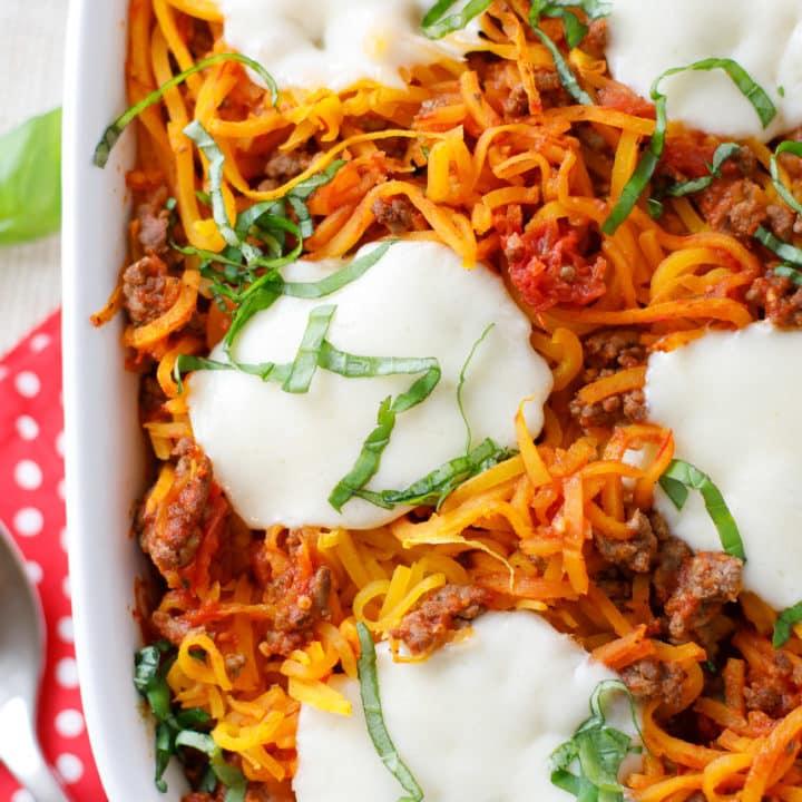 Butternut Squash Spaghetti