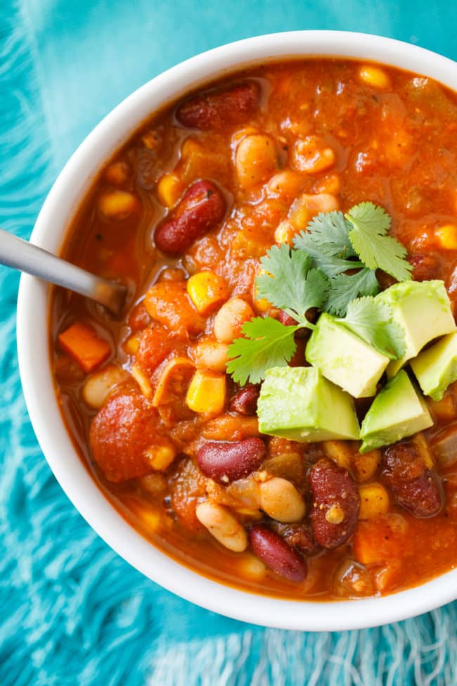 Easy vegan chili recipe forumfinder Image collections