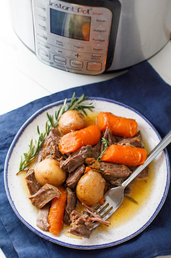 Instant Pot Chuck Roast Recipe