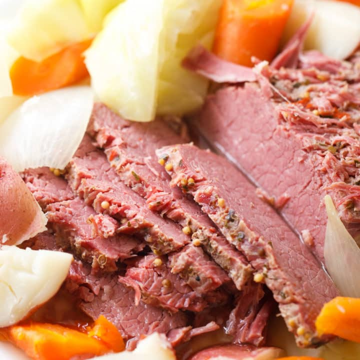 Corned Beef, Cabbage, Carrots and Potatoes