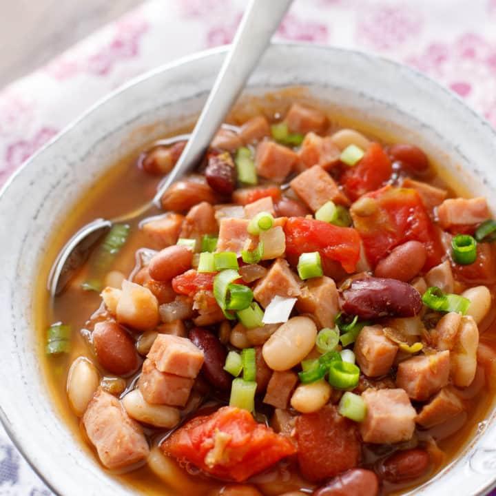 Cajun 15 Bean Soup with Ham