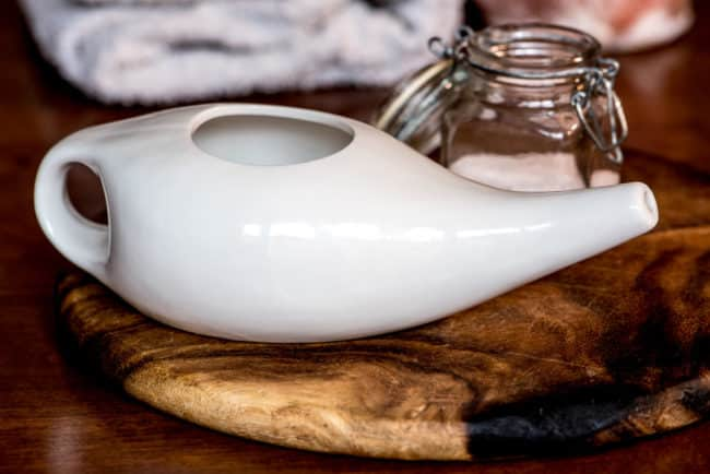 Remedy for Sinus Infection Neti Pot