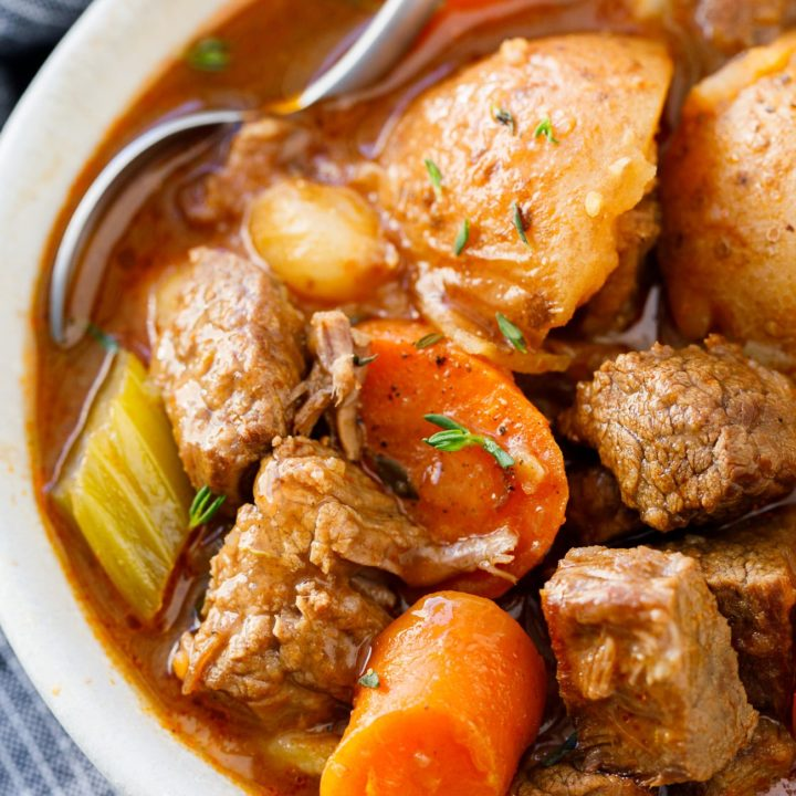 Instant Pot Beef Stew Easy Pressure Cooker Beef Stew Recipe