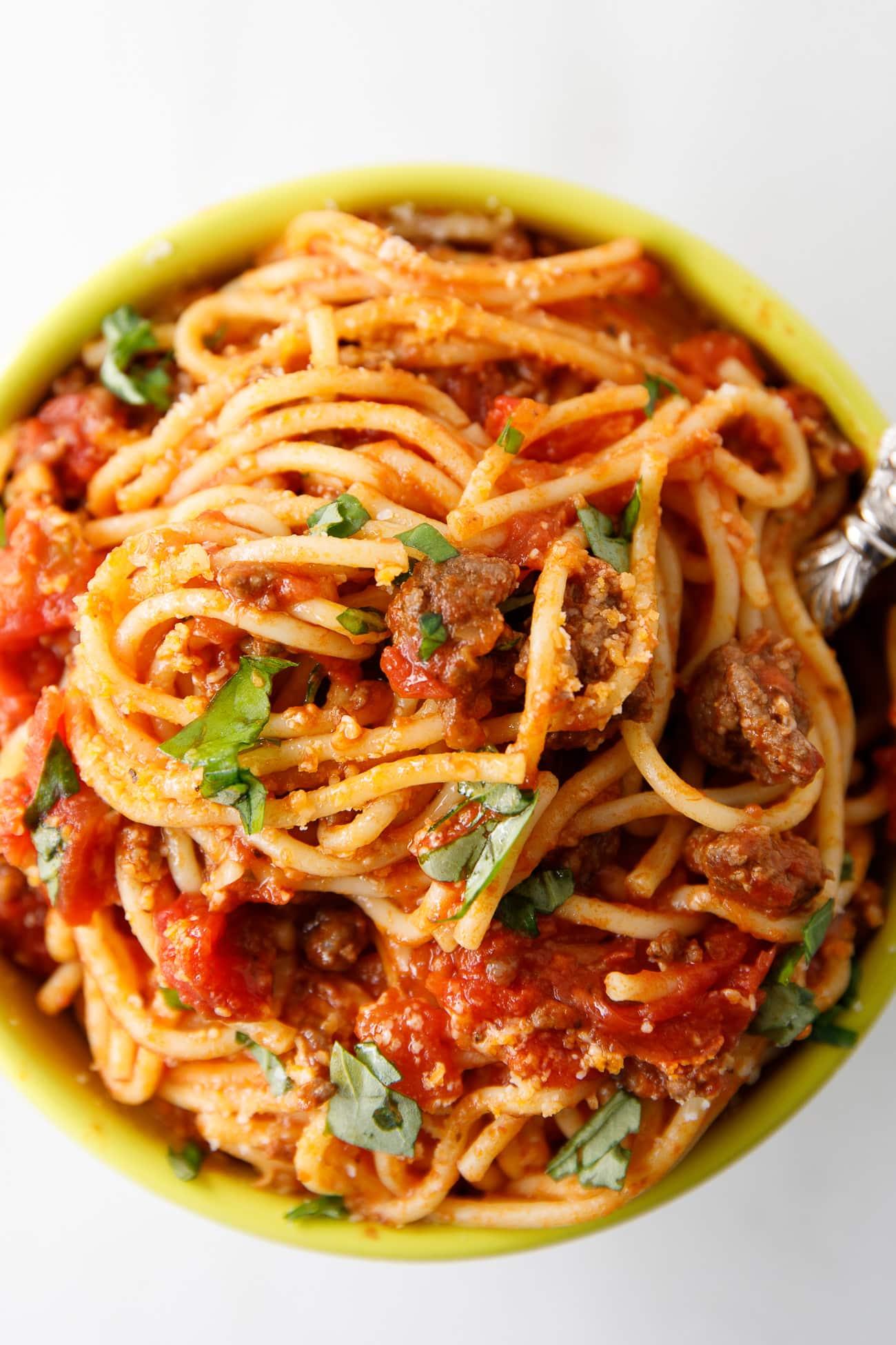 Instant Pot Spaghetti Best Instant Pot Spaghetti Recipe