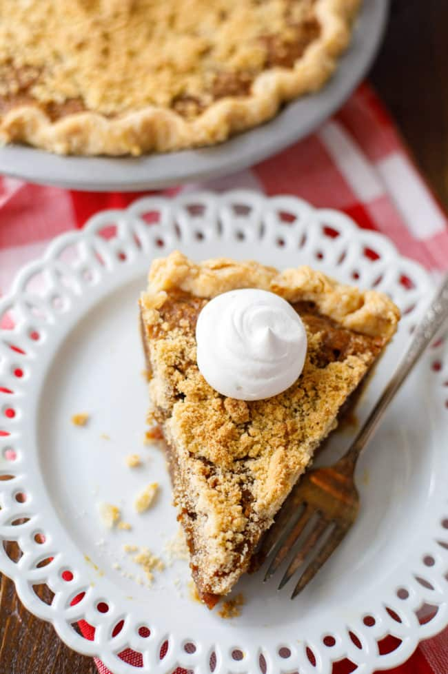 Amish Shoo Fly Pie