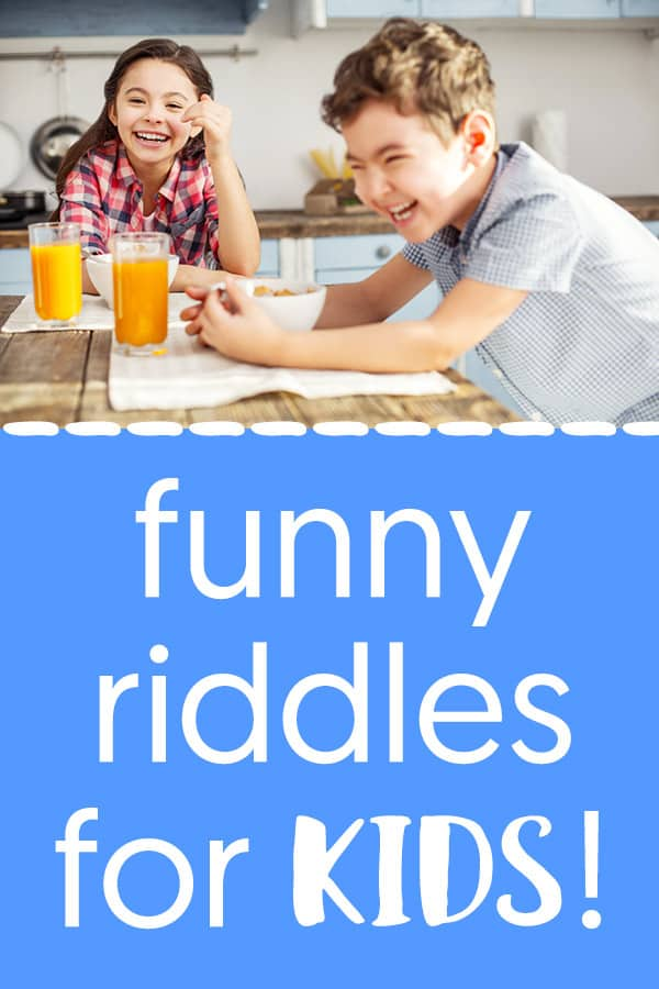 99+ Riddles for Kids with Answers - BEST Funny Riddles and Jokes!