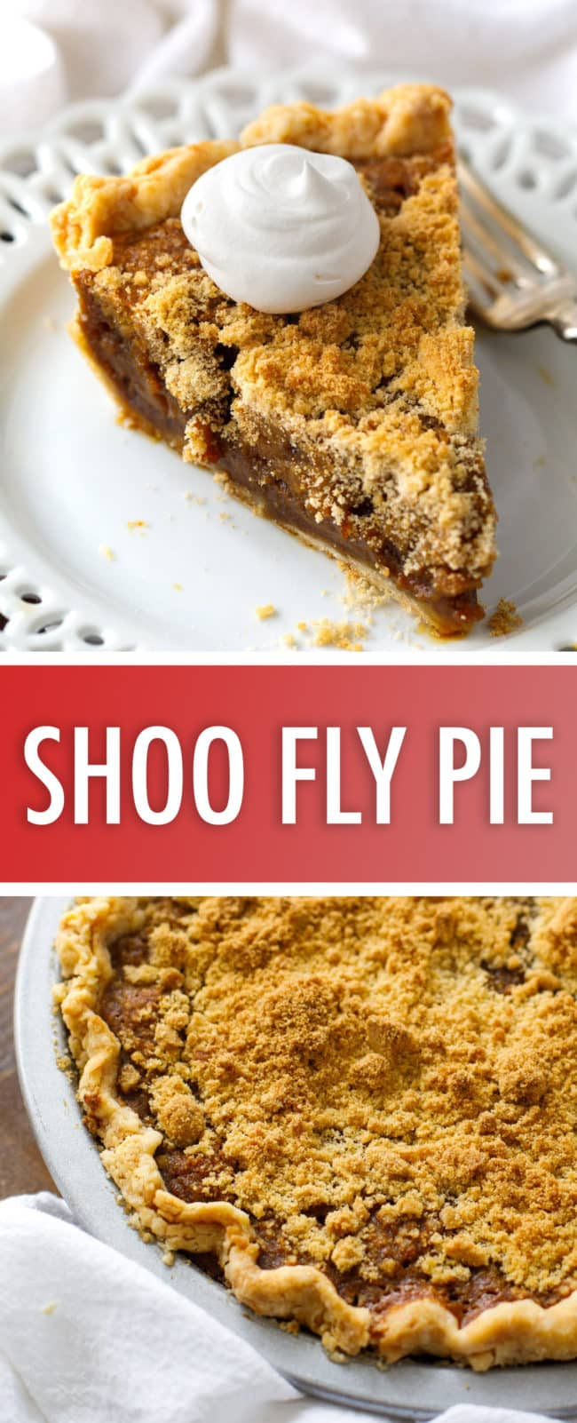 Authentic Amish Shoo Fly Pie Recipe