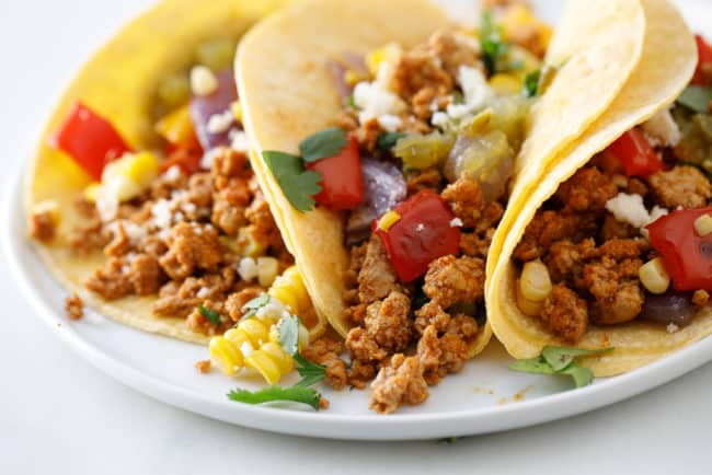 Easy Ground Pork Tacos Recipe