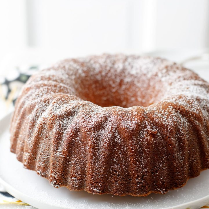 Buttermilk Pound Cake
