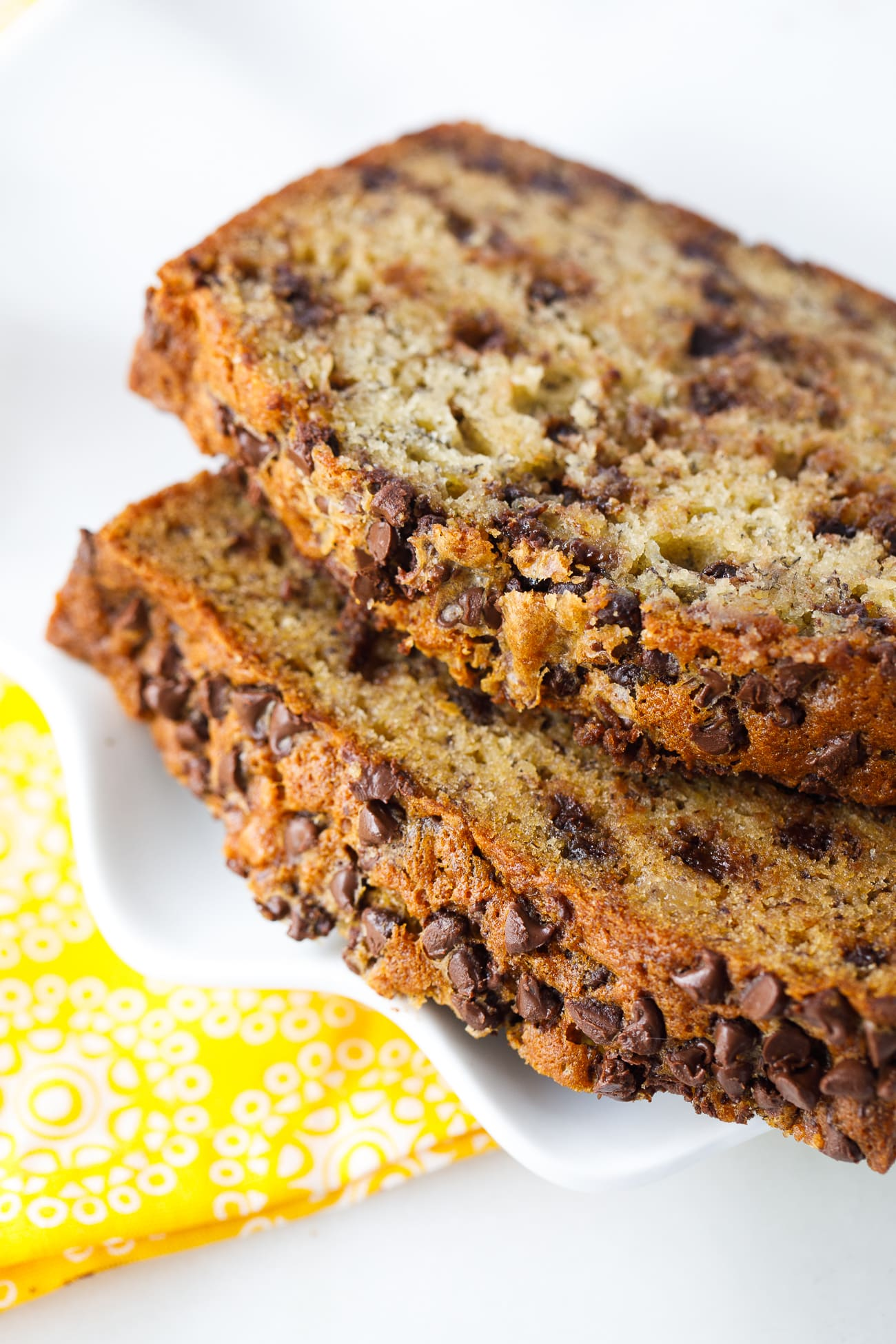 Chocolate Chip Banana Bread Best Moist And Sweet Bread