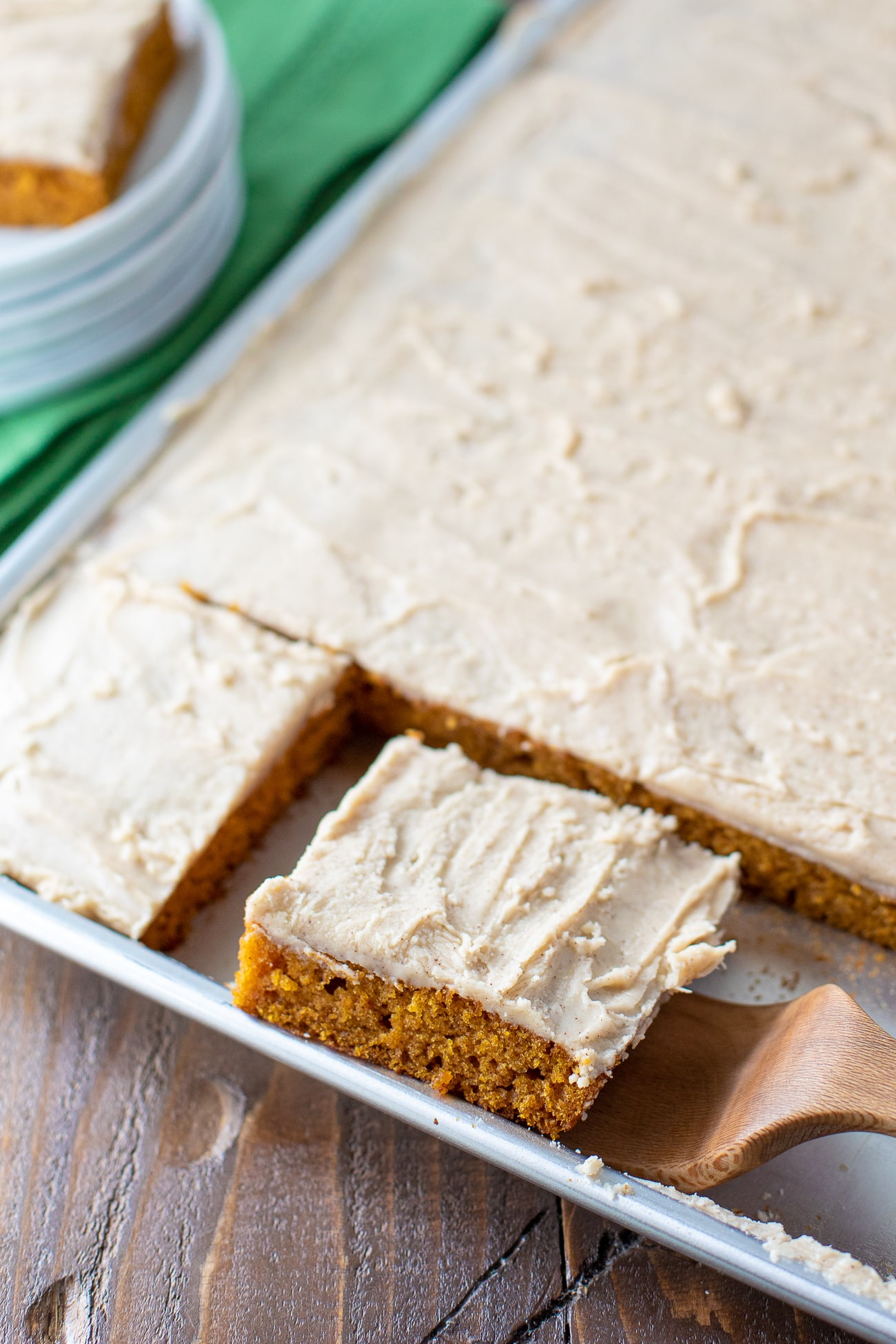 Easy Pumpkin Sheet Cake