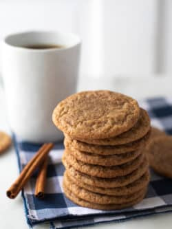Coffee Cinnamon Cookies Recipe