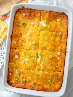Keto Breakfast Casserole Recipe - Low Carb Egg Casserole - Breakfast Casserole - Ketogenic - Diet #Keto