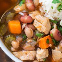 Cajun 15-Bean Soup with Turkey