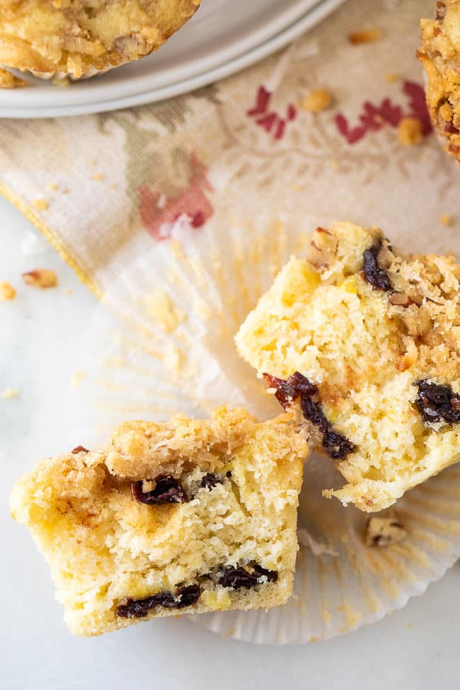 Ambrosia Muffins are moist, delicious, and loaded with coconut goodness! #Muffins #Ambrosia
