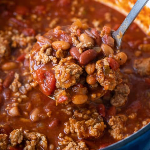 Ground Pork Chili