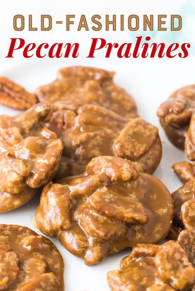 Old-Fashioned Pecan Pralines Recipe | Southern Pralines | Louisiana Pralines | New Orleans Pralines #Pralines #Dessert #Candy