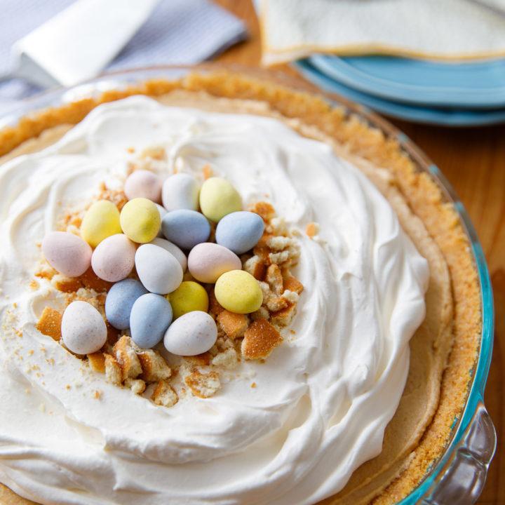 Easter Peanut Butter Pie