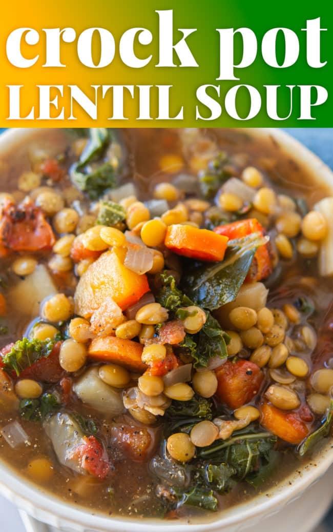crock pot soup in a bowl