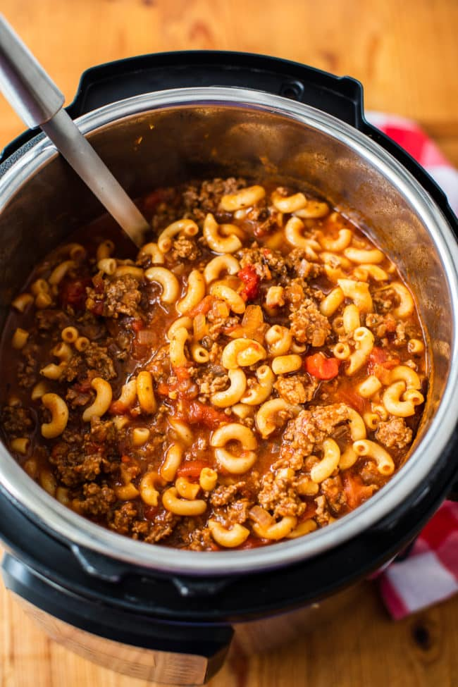 Instant Pot Old Fashioned Goulash