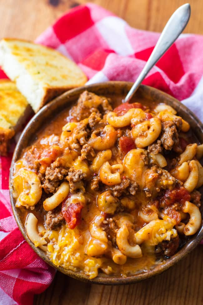 easy instant pot goulash